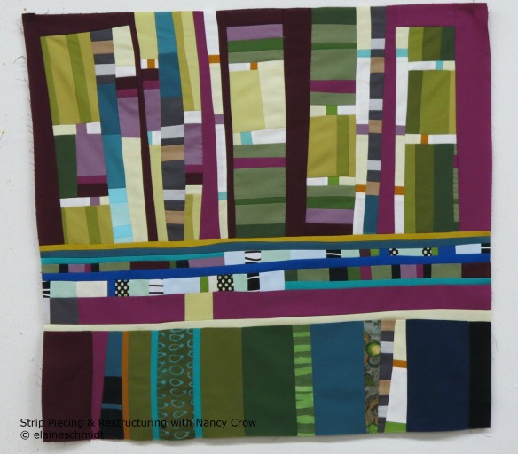 Strip-Piecing & Restructuring - Composition 2
