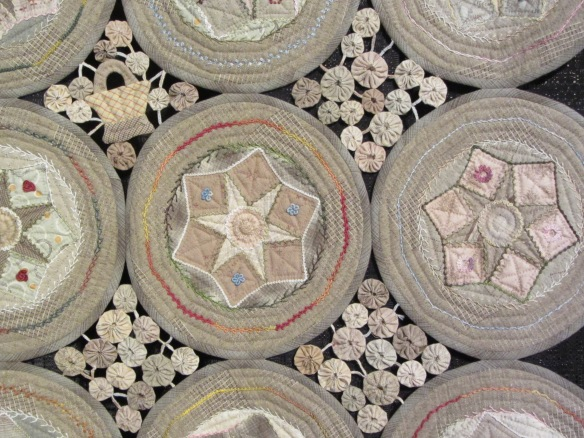 Detail of Circle Quilt