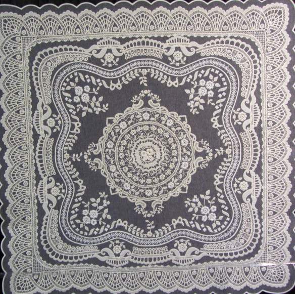 Irish Crochet Lace by Chieko Shiraishi of Japan.  A combination of crochet and quilting