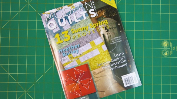 Modern Quilts Unlimited  Spring 2014 issue