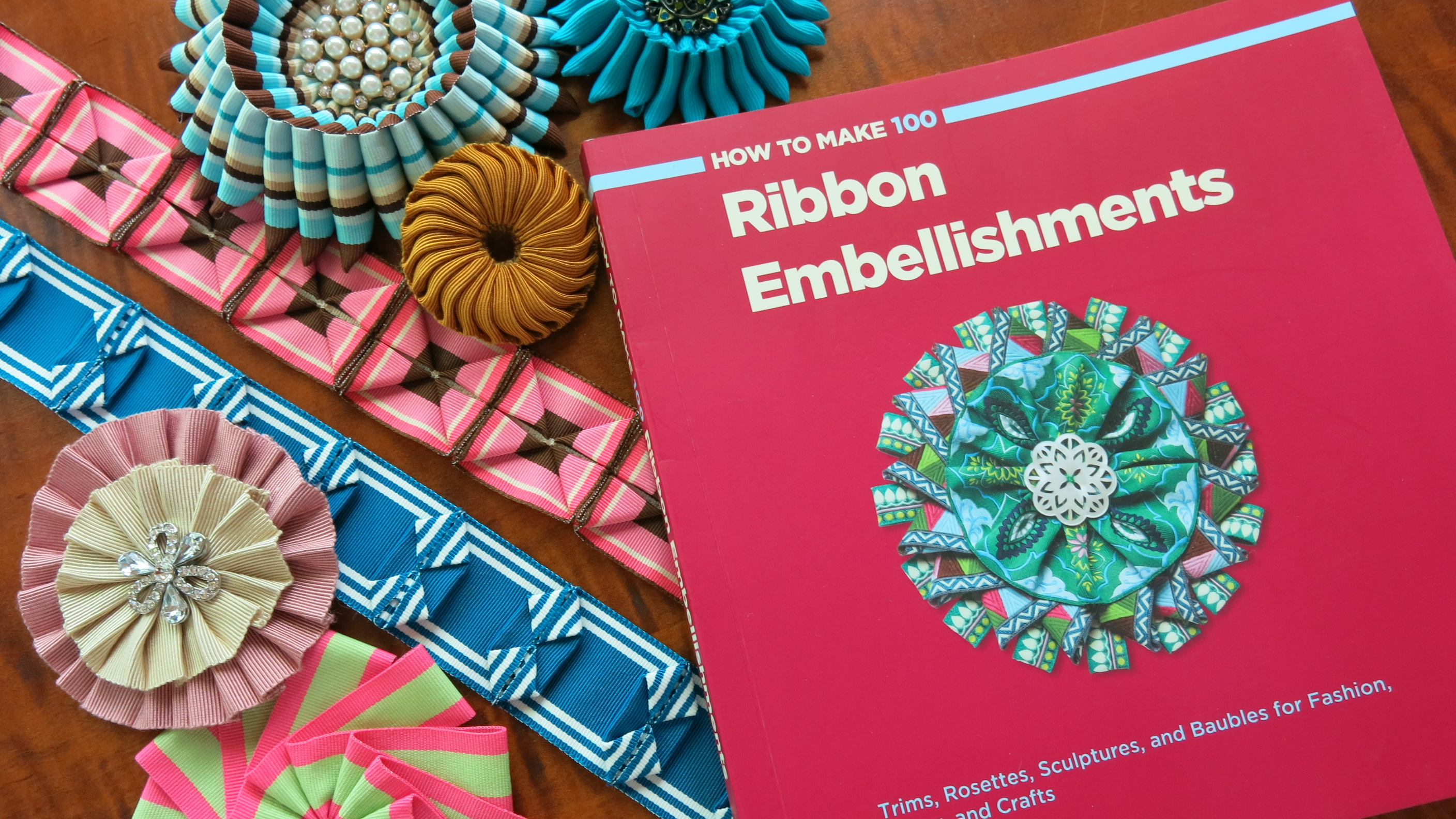 Ribbon petal cockade tutorial by the ribbon whisperer for Craft ribbons and trims