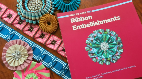 How to Make 100 Ribbon Embellishments Book Giveaway